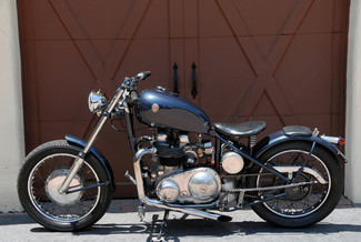 1966 Matchless MONARCH 650 CLASSIC BRITISH BOBBER BIKE Cocoa, Florida 6