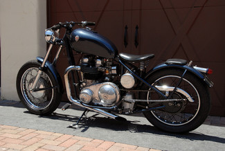 1966 Matchless MONARCH 650 CLASSIC BRITISH BOBBER BIKE Cocoa, Florida 11
