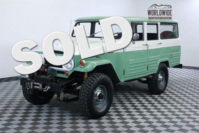 1966 Toyota LAND CRUISER FJ45 LV RESTORED 1 OF 100 V8 AC COLLECTOR | Denver, Colorado | Worldwide Vintage Autos