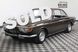 1967 BMW 2000CS EXTREMELY RARE M10 INLINE 4 CYLINDER MOTOR | Denver, Colorado | Worldwide Vintage Autos in Denver Colorado
