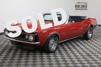 1967 Chevrolet CAMARO CONVERTIBLE RESTORED 396 BIG BLOCK 4 SPEED | Denver, Colorado | Worldwide Vintage Autos in Denver Colorado