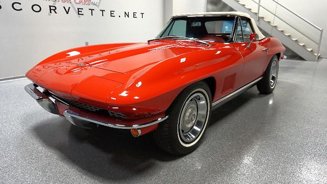 1967 Chevrolet Corvette Lubbock Texas Red 1967