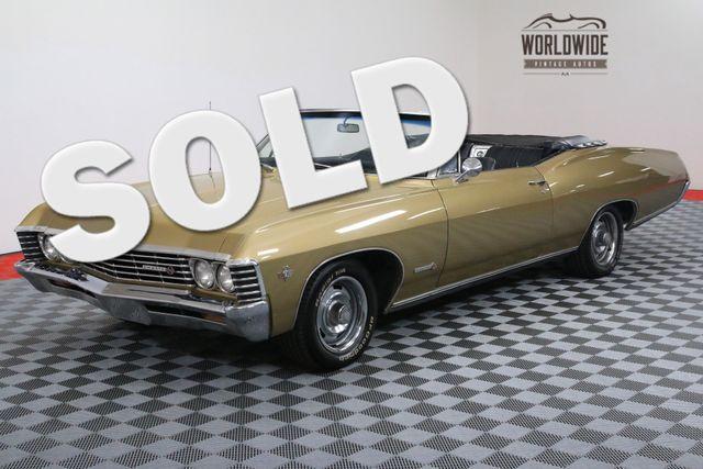 1967 Chevrolet IMPALA SS CONVERTIBLE V8 AUTO | Denver, Colorado | Worldwide Vintage Autos