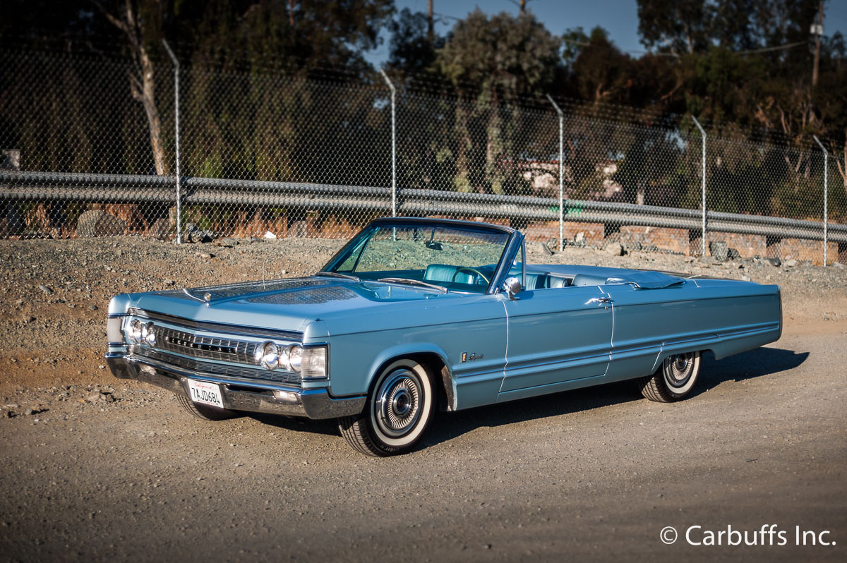 1967 Chrysler Imperial Crown Convertible in Concord, CA