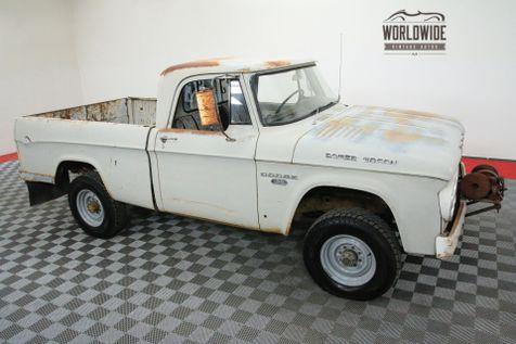 1967 Dodge POWER WAGON SWB SHORT BED 4X4 ORIGINAL PAINT | Denver, CO | Worldwide Vintage Autos in Denver, CO