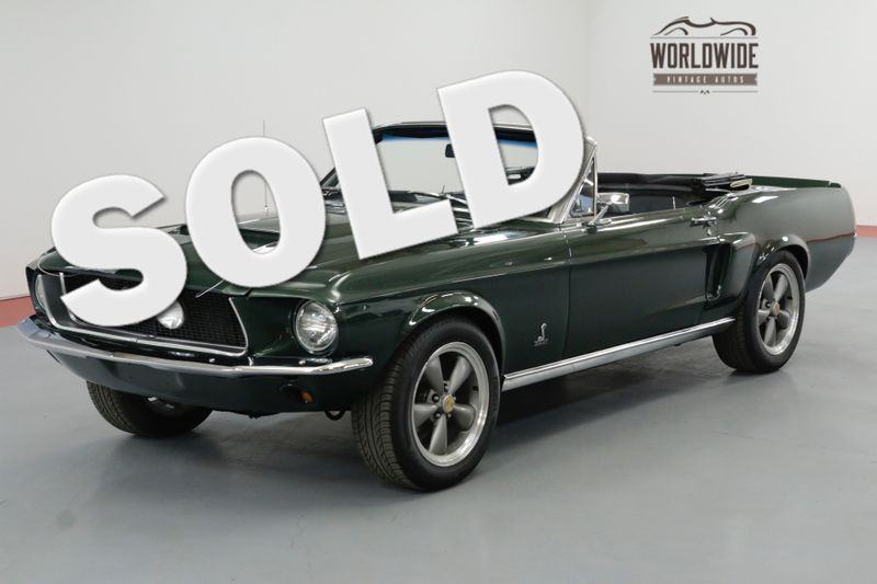 1967 Ford MUSTANG SHELBY GT350 TRIBUTE! 289V8! 5 SPEED. PS PB. | Denver, CO | Worldwide Vintage Autos