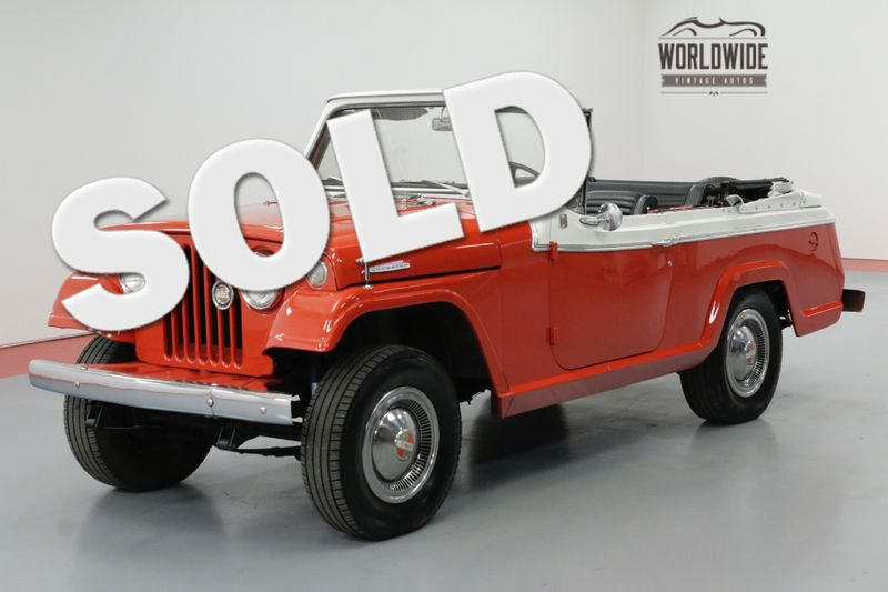 1967 Jeep JEEPSTER CABRIOLET BODY 6 CYL MANUAL 4X4 | Denver, CO | Worldwide Vintage Autos