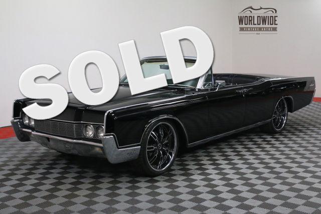 1967 Lincoln CONTINENTAL TRIPLE BLACK AUTO CUSTOM | Denver, Colorado | Worldwide Vintage Autos