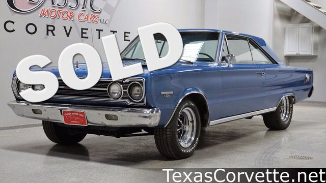 1967 Plymouth Belvedere GTX | Lubbock, Texas | Classic Motor Cars