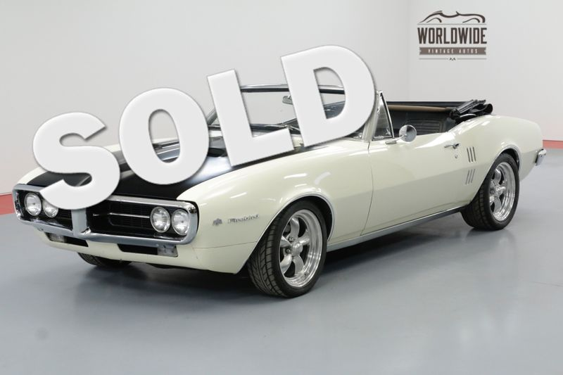1967 Pontiac FIREBIRD 400CID V8 4-SPEED PS DISC BRAKES CONVERTIBLE | Denver, CO | Worldwide Vintage Autos