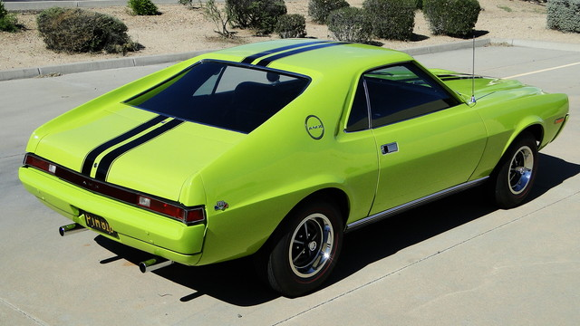 1968 American Motors AMX 2-SEATER Phoenix, Arizona 10