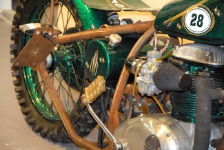 1968 Bsa A65 SPITFIRE MADE TO ORDER BOBBER CHOPPER MOTORCYCLE Mendham, New Jersey 10
