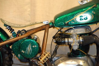 1968 Bsa A65 SPITFIRE MADE TO ORDER BOBBER CHOPPER MOTORCYCLE Mendham, New Jersey 3