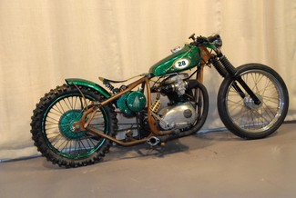 1968 Bsa A65 SPITFIRE MADE TO ORDER BOBBER CHOPPER MOTORCYCLE Mendham, New Jersey 1
