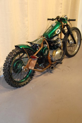 1968 Bsa A65 SPITFIRE MADE TO ORDER BOBBER CHOPPER MOTORCYCLE Mendham, New Jersey 5
