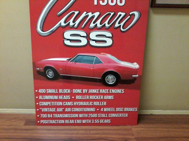 1968 Chevrolet Camaro SS 400v8 San Antonio, Texas 18