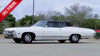 1968 Chevrolet CAPRICE SPORT COUPE 25k ORIG MILES, BLACK PLATE CALIF CAR FACT A/C Phoenix, Arizona