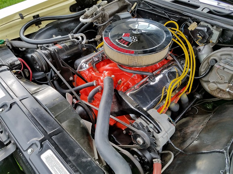 1968 Chevrolet Chevelle SS396 Convertible with AC in Garland, Texas