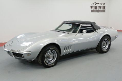 1968 Chevrolet CORVETTE MATCHING 327CI/350HP 4-SPEED RESTORED SOLD PRE VIP | Denver, CO | Worldwide Vintage Autos in Denver, CO