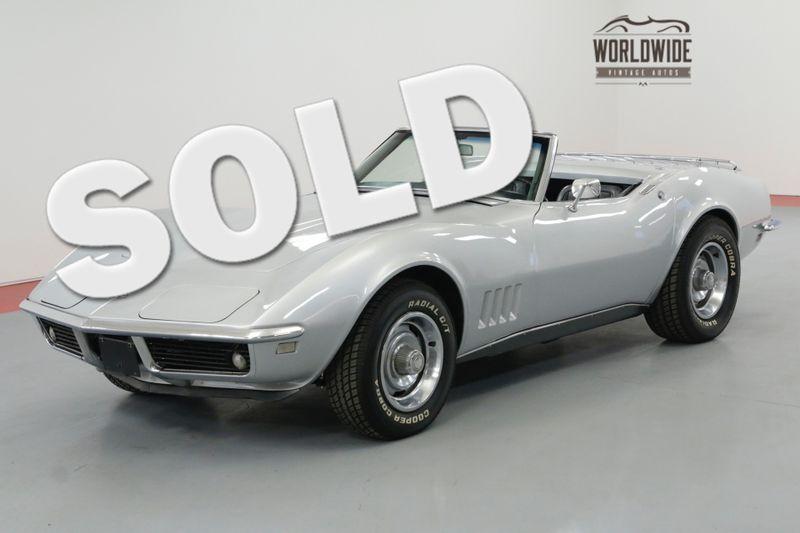 1968 Chevrolet CORVETTE MATCHING 327CI/350HP 4-SPEED RESTORED SOLD PRE VIP | Denver, CO | Worldwide Vintage Autos