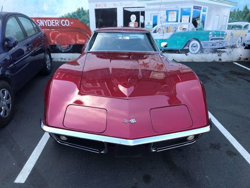 1969 Chevrolet Corvette Stingray L46 350ci 350hp 4-Speed Muncie Rebuilt Engine With Only 200 Miles T-Top Coupe  city Washington  Complete Automotive  in Seattle, Washington