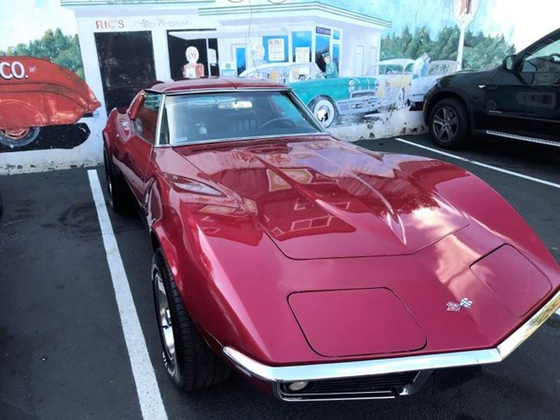 1969 Chevrolet Corvette Stingray L46 350ci 350hp 4-Speed Muncie Rebuilt Engine With Only 200 Miles T-Top Coupe  city Washington  Complete Automotive  in Seattle, Washington