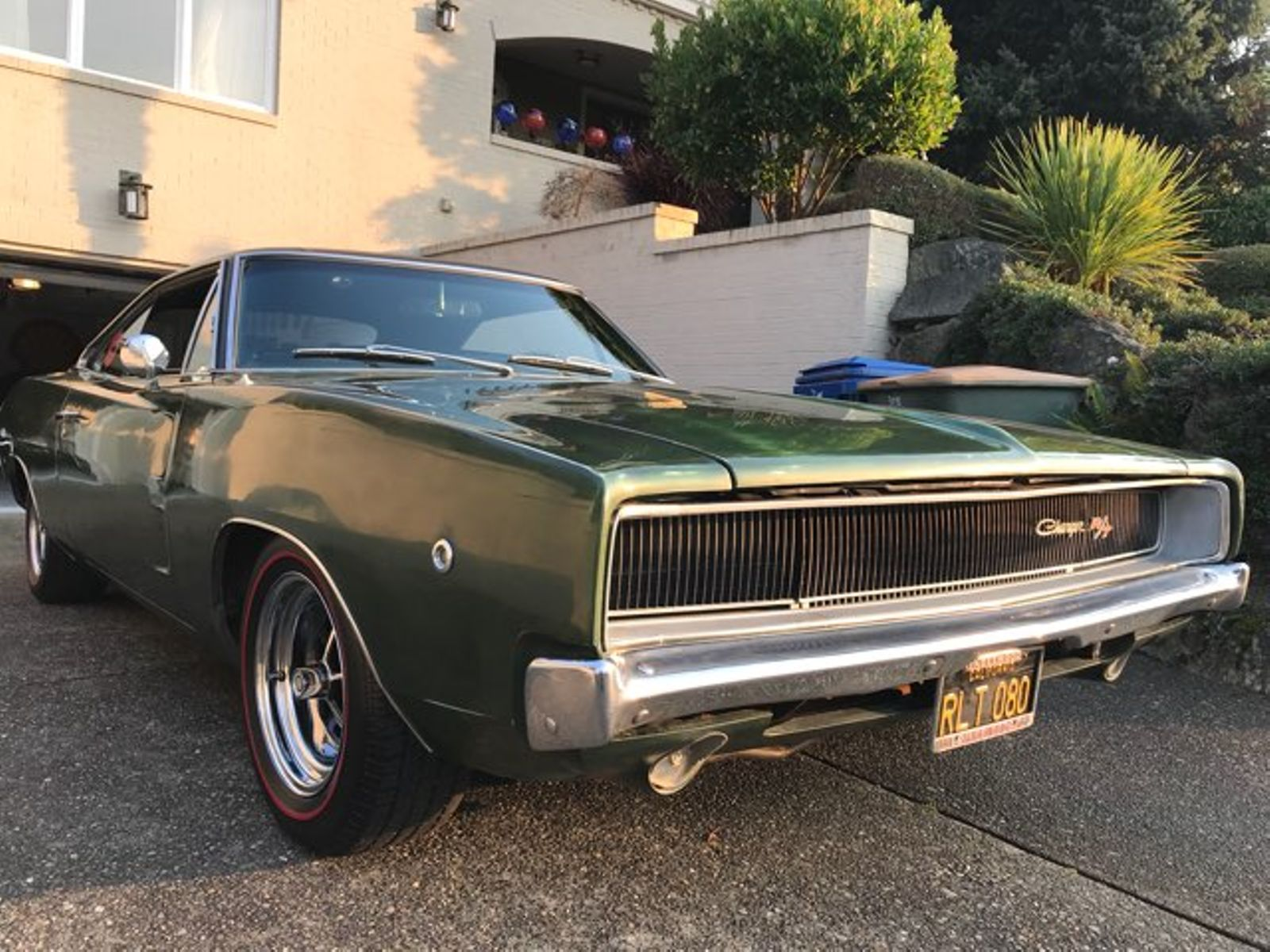 1968 Dodge Charger Rt City Washington Complete Automotive Color Chips In Seattle