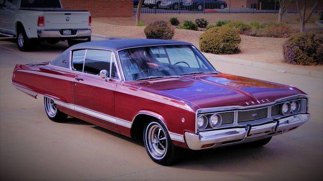 "1968 Dodge MONACO SPORT COUPE 383 4BBL ""H"" CODE  MATCH #'s Phoenix, Arizona 2"