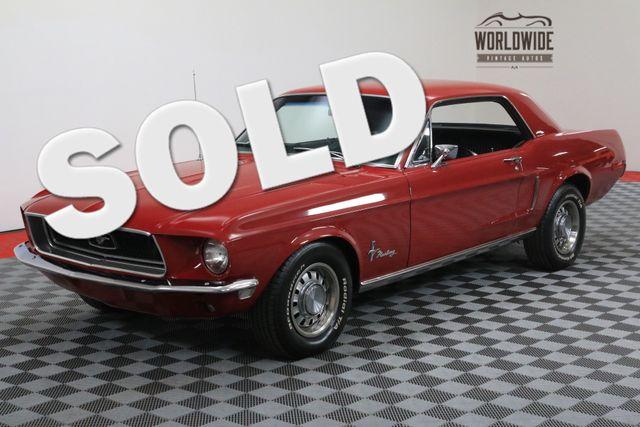 1968 Ford MUSTANG V8 AC AUTO 69K!! | Denver, Colorado | Worldwide Vintage Autos