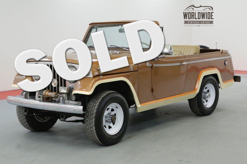 1968 Jeep JEEPSTER 68K MILES COMMANDO 4X4 MANUAL | Denver, CO | Worldwide Vintage Autos