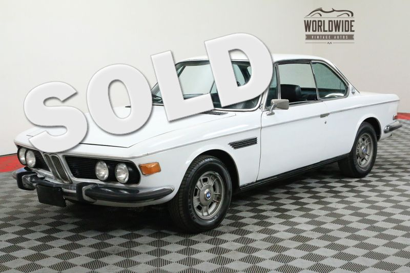 1969 BMW 2800CS EXTREMELY RARE 2800 COUPE AC! | Denver, CO | WORLDWIDE VINTAGE AUTOS