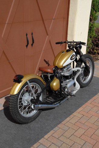 1969 Bsa A65 THUNDERBOLT CUSTOM BOBBER MOTORCYCLE MADE TO ORDER Cocoa, Florida 13