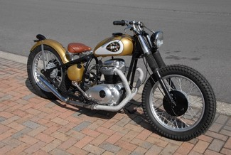 1969 Bsa A65 THUNDERBOLT CUSTOM BOBBER MOTORCYCLE MADE TO ORDER Cocoa, Florida 45