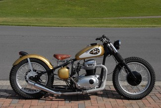 1969 Bsa A65 THUNDERBOLT CUSTOM BOBBER MOTORCYCLE MADE TO ORDER Cocoa, Florida 52