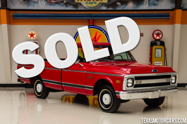 1969 Chevrolet C10 Financing is available with rates as low as 29 wac Get pre-approved in no