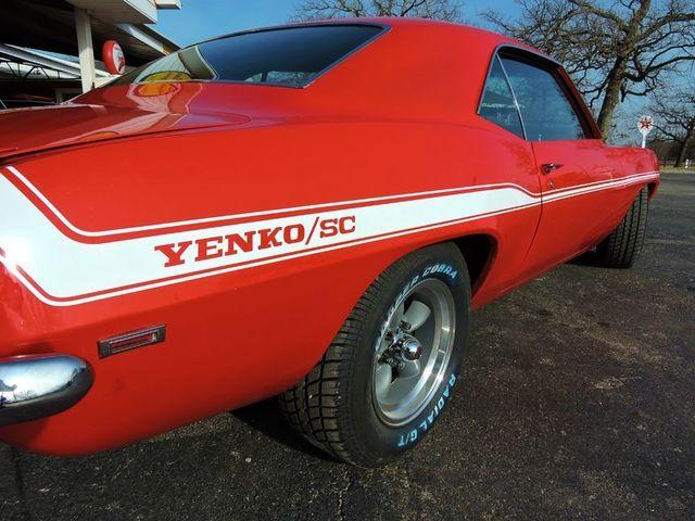 1969 Chevrolet CAMARO sYc YENKO TRIBUTE RedLineMuscleCars.com, Oklahoma 18