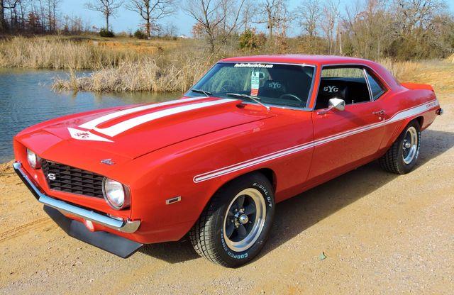 1969 Chevrolet CAMARO sYc YENKO TRIBUTE RedLineMuscleCars.com, Oklahoma 54