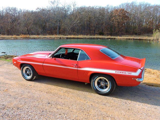 1969 Chevrolet CAMARO sYc YENKO TRIBUTE RedLineMuscleCars.com, Oklahoma 62