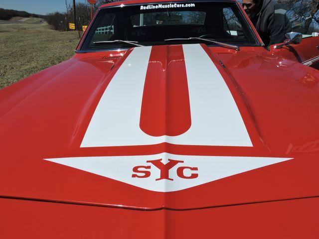 1969 Chevrolet CAMARO sYc YENKO TRIBUTE RedLineMuscleCars.com, Oklahoma 63