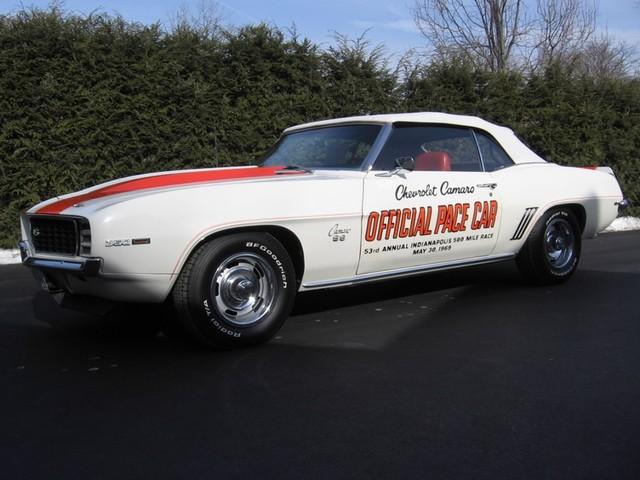 1969 Chevrolet Camaro SS Pace Car Austin , Texas 1