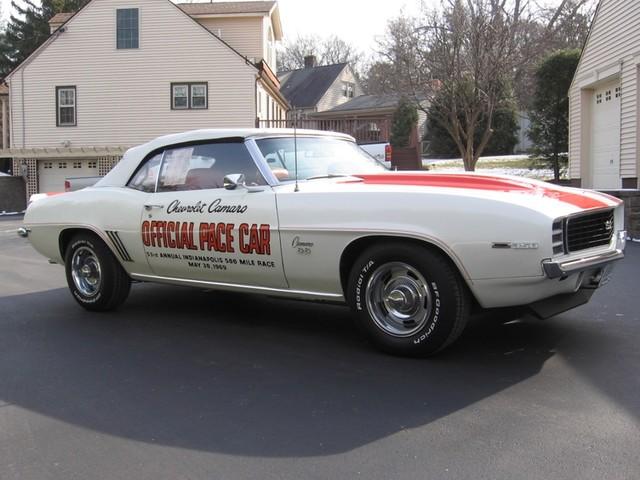 1969 Chevrolet Camaro SS Pace Car Austin , Texas 8
