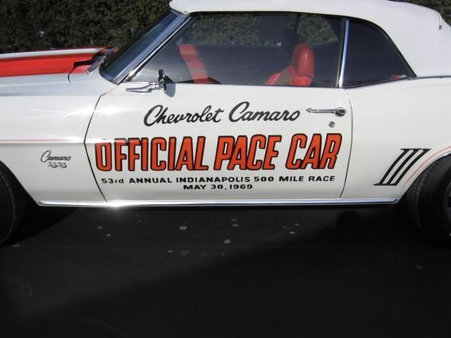1969 Chevrolet Camaro SS Pace Car Austin , Texas 2