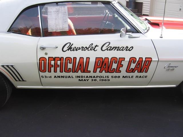 1969 Chevrolet Camaro SS Pace Car Austin , Texas 7