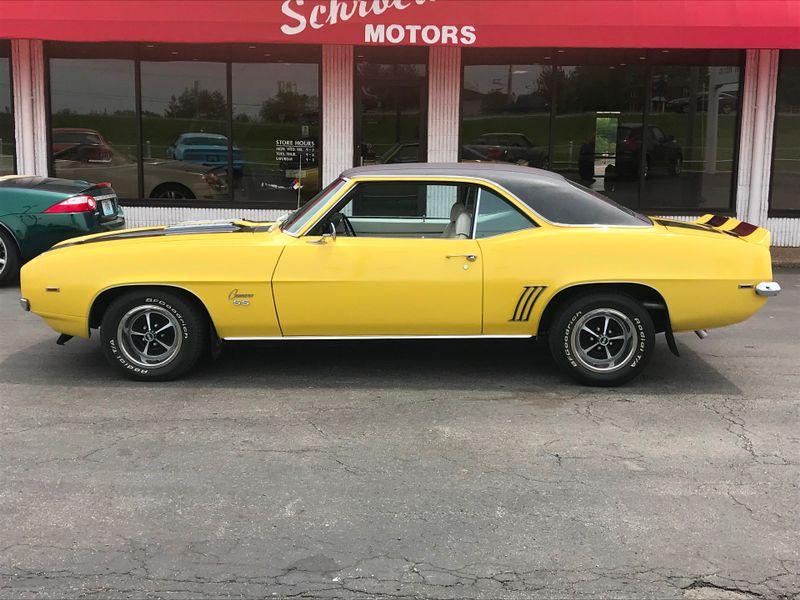 1969 Chevrolet Camaro   St Charles Missouri  Schroeder Motors  in St. Charles, Missouri