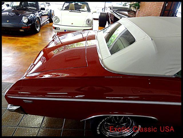 1969 Chevrolet Chevelle  SS 396 CONVERTIBLE CLONE San Diego, California 6
