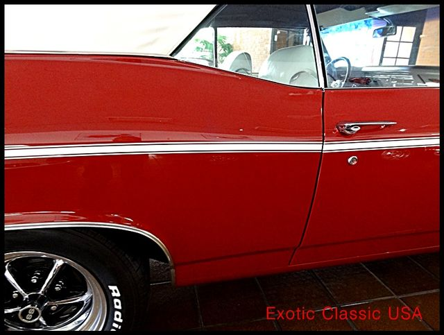 1969 Chevrolet Chevelle  SS 396 CONVERTIBLE CLONE San Diego, California 18