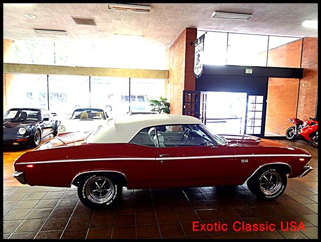 1969 Chevrolet Chevelle  SS 396 CONVERTIBLE CLONE San Diego, California 2