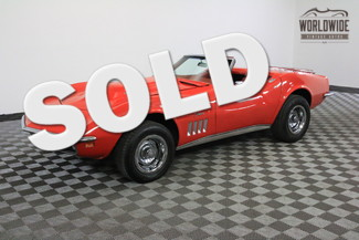 1969 Chevrolet CORVETTE 4 SPEED MANUAL 454 CONVERTIBLE in Denver Colorado