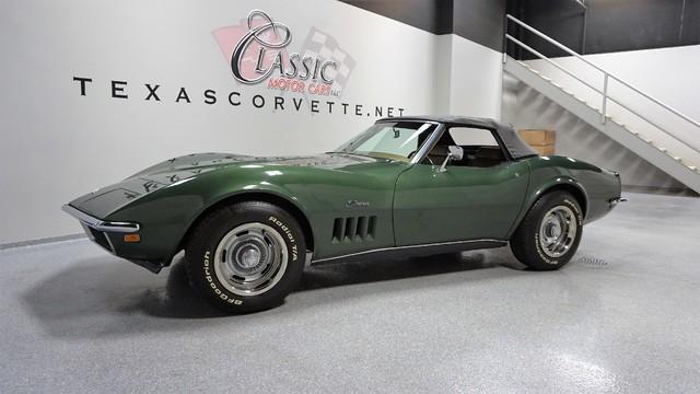 1969 Chevrolet Corvette Lubbock Texas Green 1969