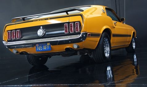 1969 Ford MUSTANG MACH 1 | Milpitas, California | NBS Auto Showroom in Milpitas, California